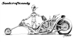Soulcraftcandy 3 cylinder drag cartoon.
