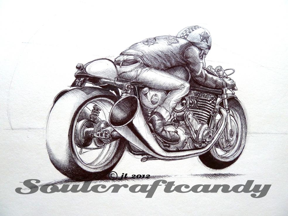 Cafe Racer No 6 Progress Soulcraftcandy