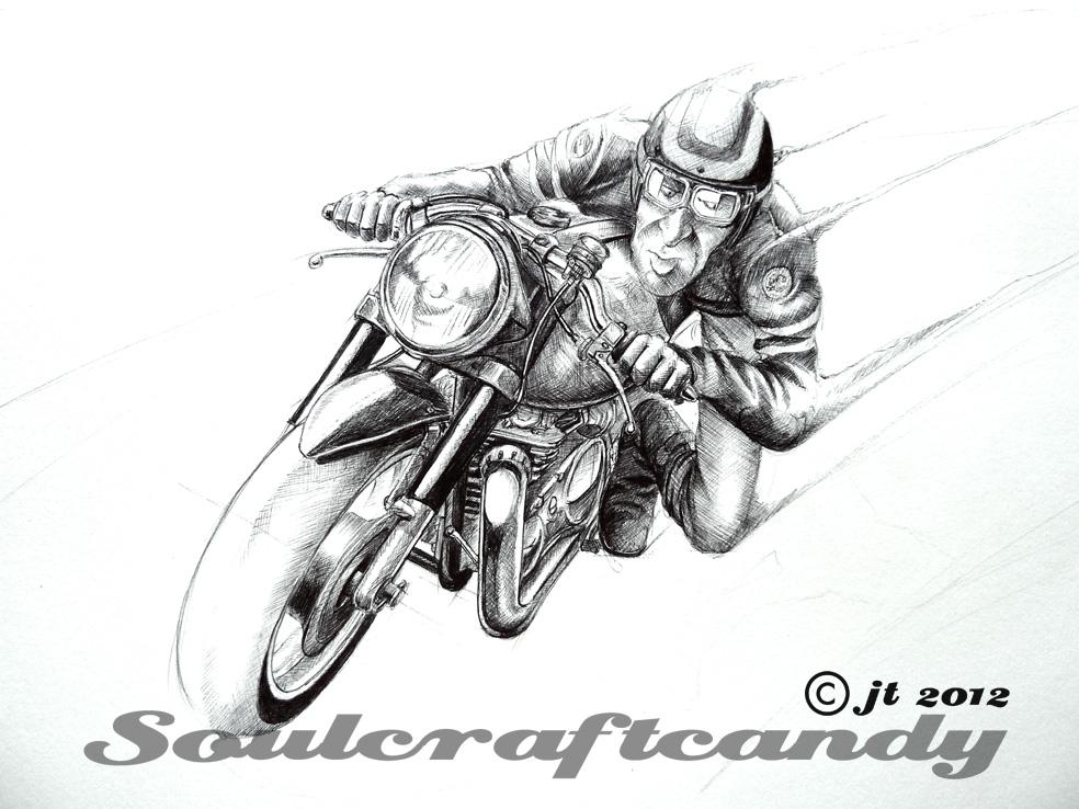 Cafe Racer No 6 Finally Soulcraftcandy