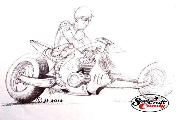Hotrod sketch