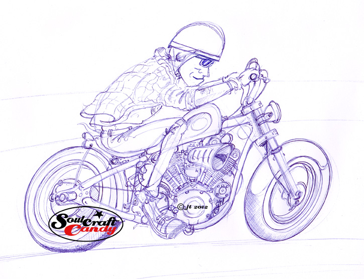 Street Bike Drawings Street Bikes That Were on