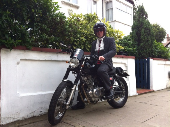 Ready for the Gentleman's Ride.