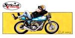 soulcraftcandy cafe racer by Jon Tremlett