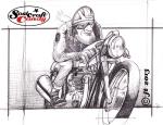 Cafe Racer sketch ©Soulcraftcandy 2013