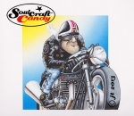 Cafe Racer cartoon from soulcraftcandy ©Jon Tremlett 2013