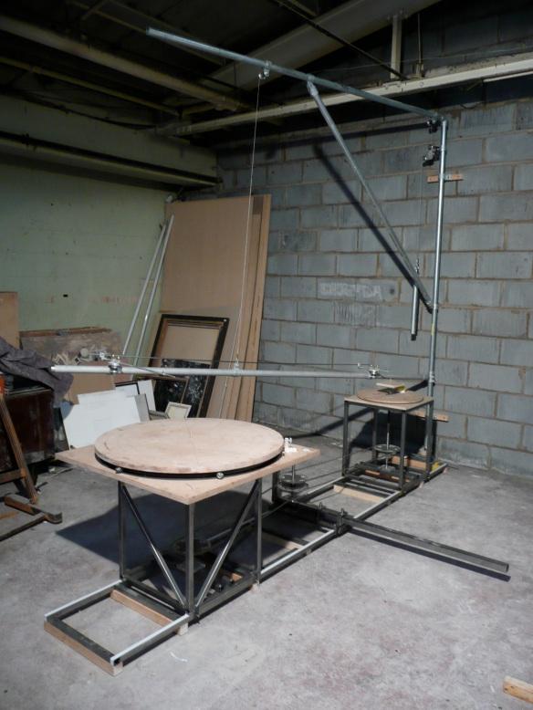 3D Pantograph built by Jon Tremlett.