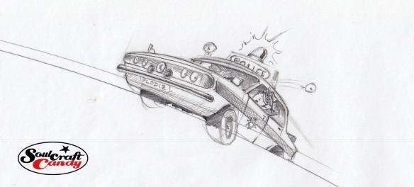 Police car by Jon Tremlett 2014