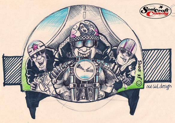Helmet_Sketch_front©JonTremlett